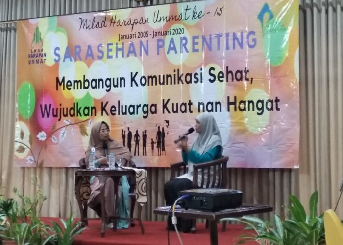 sarasehan parenting